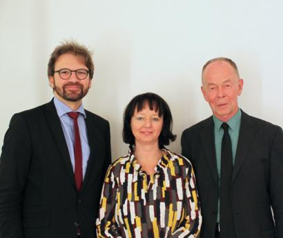 Herwig Ostermann, Andrea Fried, Gerd Antes
